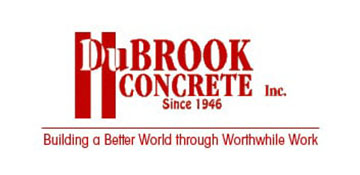 dubrook concrete logo in color