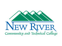 new river community college logo in color