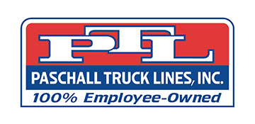 paschall truck lines logo in color