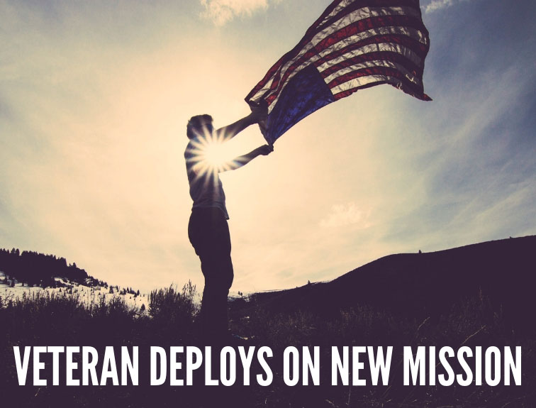 Veteran Deploys on New Mission