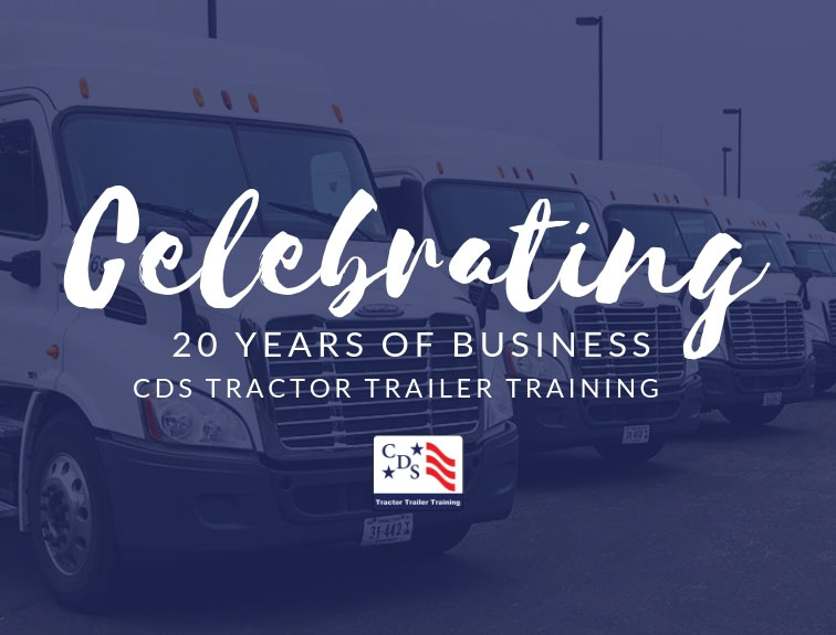 Celebrating 20 Years of CDS Tractor Trailer Training