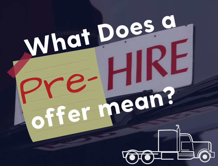 """What Does A Pre-Hire Offer Mean?"" text"