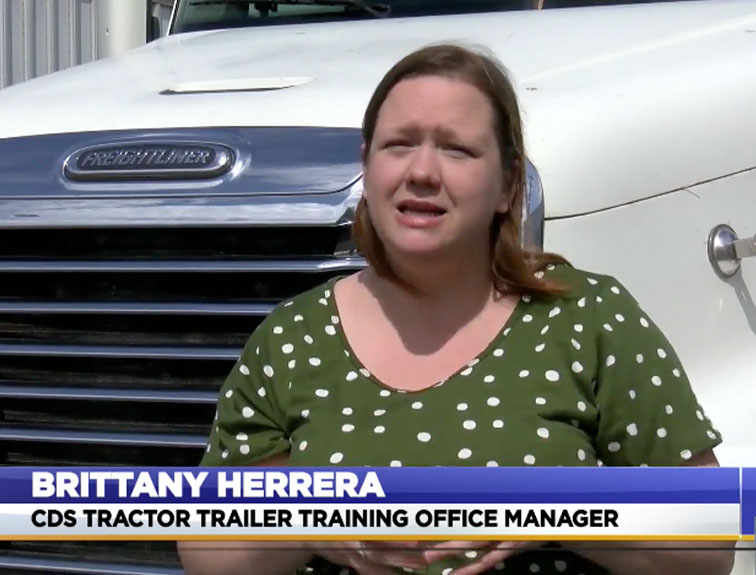 Winchester Training Center manager, Brittany Herrera interviewed by WDVM