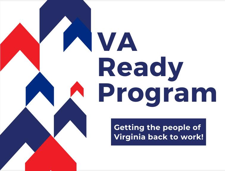 Text reads, VA Ready Program